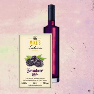 Brombeer – Fruchtlikör